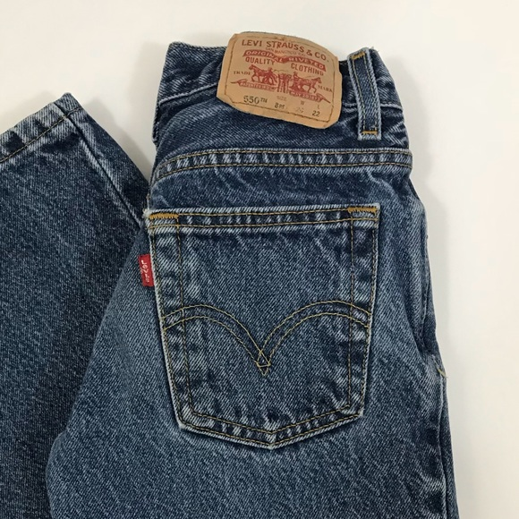 Levi's Other - Vintage Levi's 550 kids jeans size 8 relaxed fit